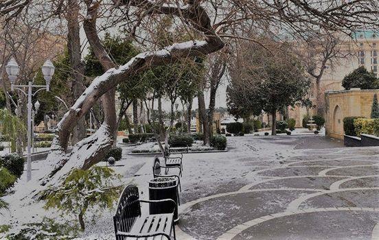 Синоптики прогнозируют снег в Баку и по всему Азербайджану.