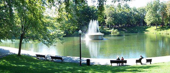 Le parc La Fontaine était presque une académie militaire