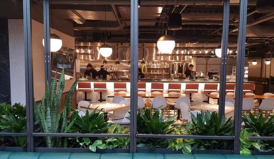 Le Cathcart, Montreal's New Glass-Ceiling Food Court & Biergarten is a