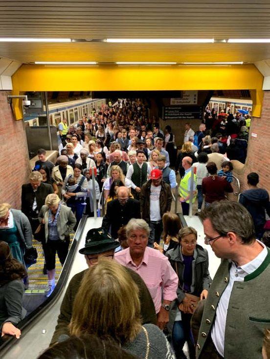 Metro in München
