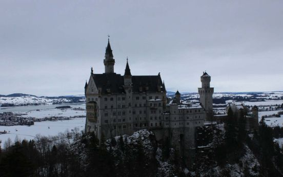 Schloss Neuschwanstein Schwangau, Deutschland