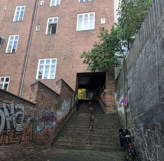 Straßen von Flensburg, Deutschland