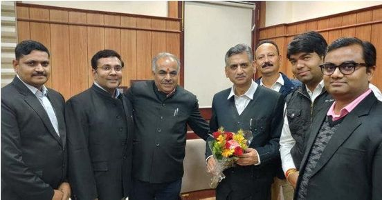 Farewell of Justice KN Bajpai