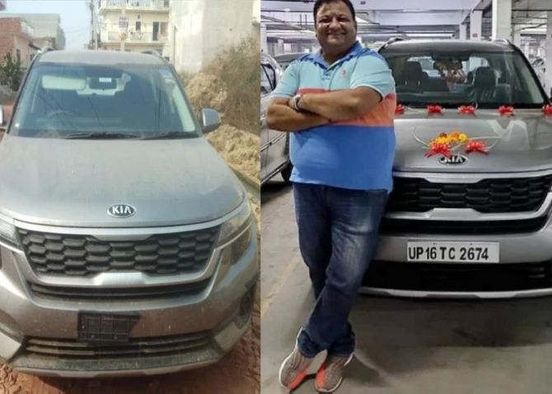 Gaurav Chandel's car recovered from Ghaziabad