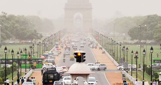 Improvement in air quality of Delhi NCR