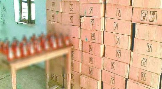 <strong>70 bottle illegal liquor recovered</strong>