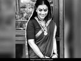 Kajol shared a picture of his first look test from Tanji