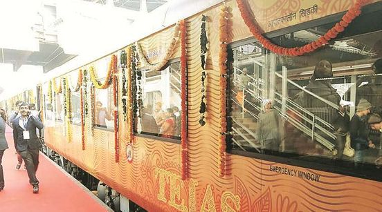 Delayed, Tejas Express liable to pay Rs 100 each to 620 passengers