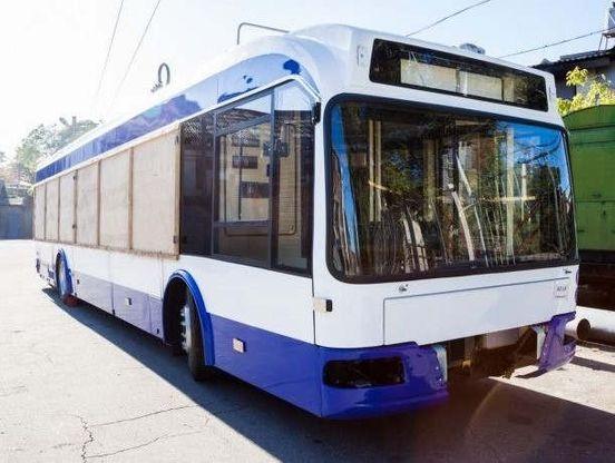 Новые троллейбусы.