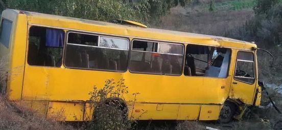 Автобус, который возвращался с выставки собак попал в ДТП