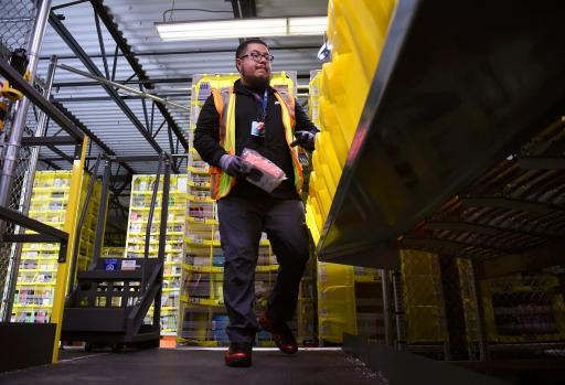 Injuries at Central California's Amazon warehouse are triple industry