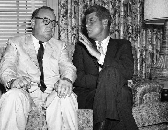 JFK sells auctioning and Ex California governor.