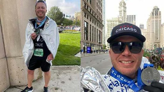 Oklahoma City Police Officer is completing 2 marathons in 7 days.