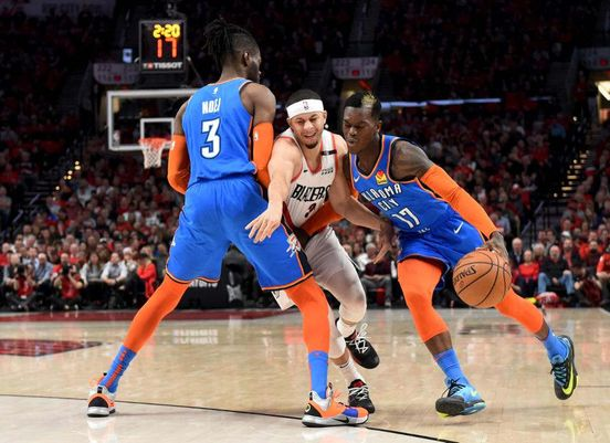 The Oklahoma City Thunder's Most Overpaid and Poorly paid Players