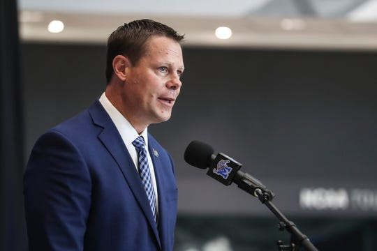 The rejection led Laird Veatch to Memphis University. Where's he going to lead Memphis?