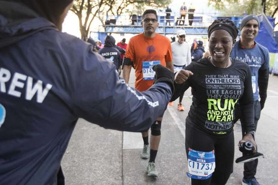 Arrangements for Marathon in Houston are crowning