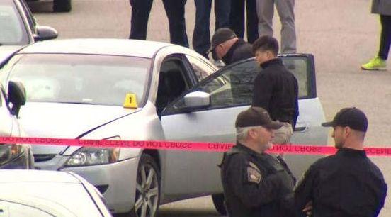Man shot dead in Hyde Park.