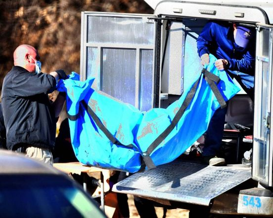 Remains of a human body found in Colorado
