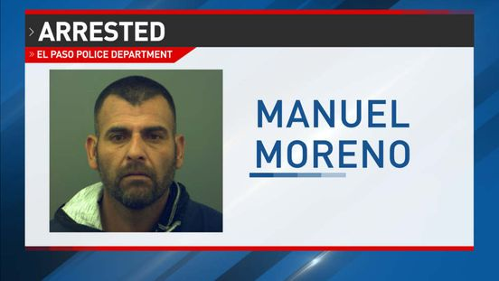 Man arrested in El Paso for two aggravated robberies