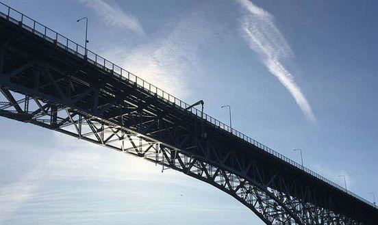 Emergency repair work begins on the Aurora Bridge in Seattle